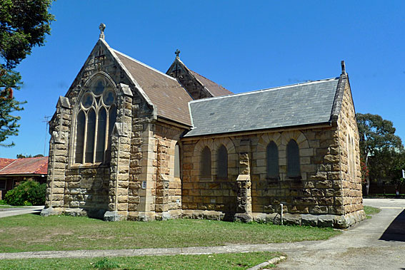 St Pauls Anglican Church — Compe